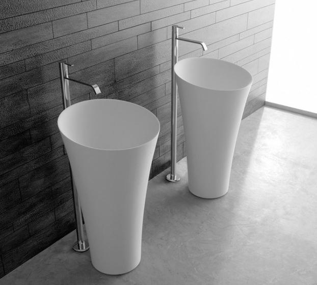 Lavabo Tuba di Antonio Lupi - Saglietto Ceramiche